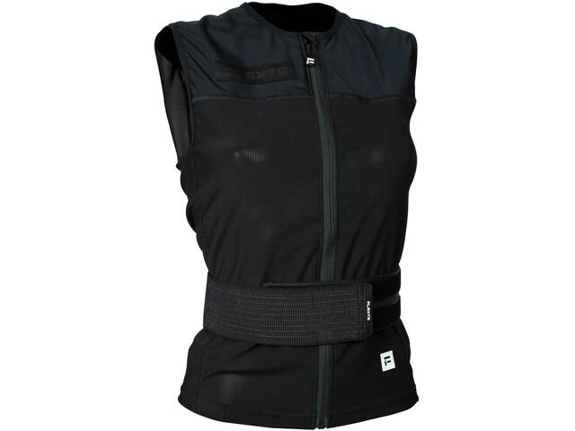 Flaxta Backup Chaleco Protector Trasero Mujer, negro